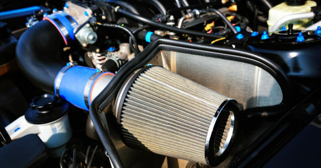 performance air intake breather