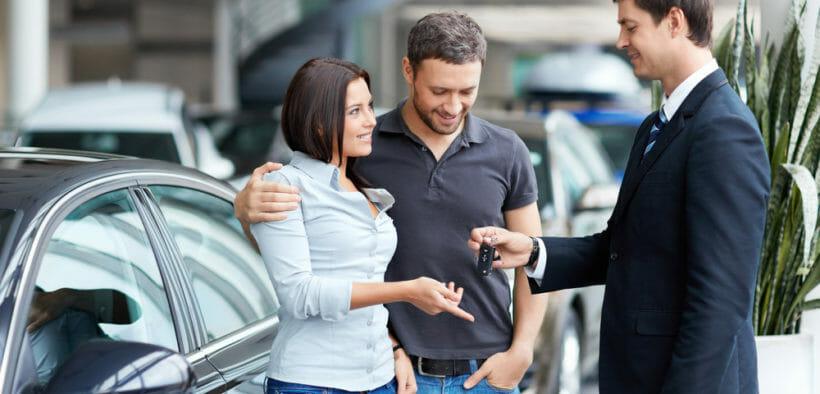 car buyer couple