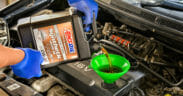 Amsoil synthetic engine oil refill